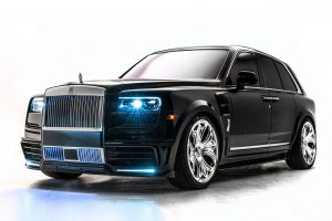Drake Has A Gothic-Looking Rolls-Royce. Care For A Tour?