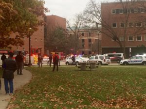 Reported Stabber at Ohio State University, 10 Hospitalized
